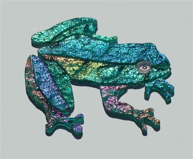 Mosaic Frog Wall Plaque - Folksy | Craftjuice Handmade Social Network